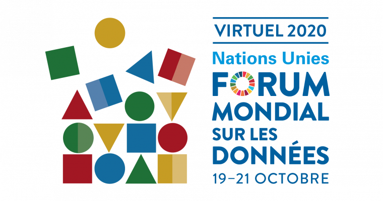 2020 Virtual UN World Data Forum Logo